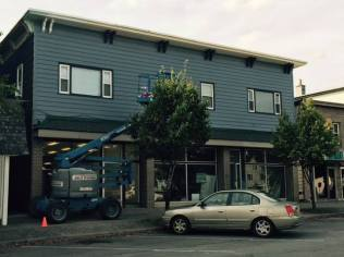 Bag and String Wine Merchants, 110 Chautauqua Avenue Lakewood NY, Wine Shop, Renovations, Painti