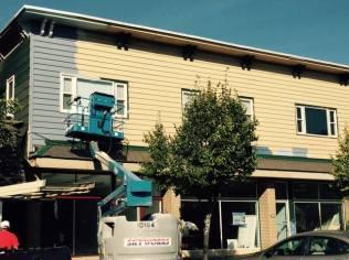 Bag and String Wine Merchants, 110 Chautauqua Avenue Lakewood NY, Wine Shop, Renovations, Painting