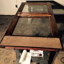 Bag & String Wine Merchants, Wine Shop, Door, Renovation, Repurpose, Restoration, DIY, Lakewood NY